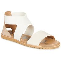 Παπούτσια Γυναίκα Σανδάλια / Πέδιλα Sorel ELLA SANDAL Άσπρο / Beige