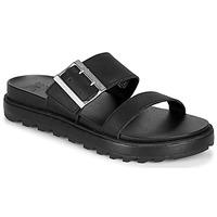 Παπούτσια Γυναίκα Σανδάλια / Πέδιλα Sorel ROAMING BUCKLE SLIDE Black