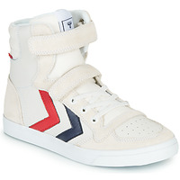 Παπούτσια Παιδί Ψηλά Sneakers Hummel SLIMMER STADIL LEATHER HIGH JR Άσπρο