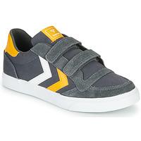 Παπούτσια Παιδί Χαμηλά Sneakers Hummel STADIL LOW JR Grey