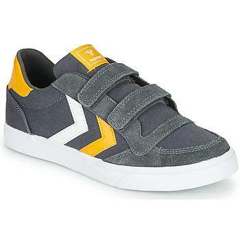 Xαμηλά Sneakers Hummel STADIL LOW JR ΣΤΕΛΕΧΟΣ: Δέρμα / ύφασμα & ΕΠΕΝΔΥΣΗ: Ύφασμα & ΕΣ. ΣΟΛΑ: Ύφασμα & ΕΞ. ΣΟΛΑ: Καουτσούκ
