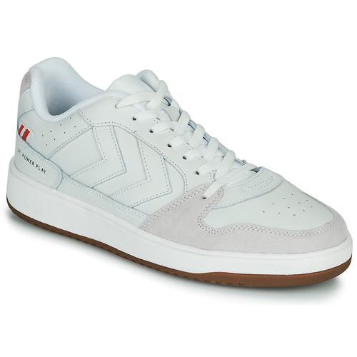 Παπούτσια Άνδρας Χαμηλά Sneakers Hummel ST. POWER PLAY Άσπρο
