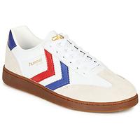 Παπούτσια Άνδρας Χαμηλά Sneakers Hummel VM78 CPH LEATHER Άσπρο / Red / Μπλέ