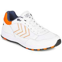 Παπούτσια Άνδρας Χαμηλά Sneakers Hummel 3-S SPORT Άσπρο / Orange