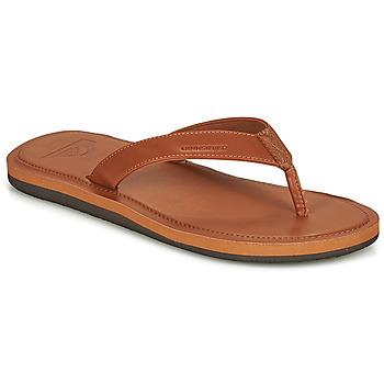 Παπούτσια Άνδρας Σαγιονάρες Quiksilver MOLOKAI NUBUK II Brown