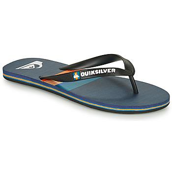 Παπούτσια Άνδρας Σαγιονάρες Quiksilver MOLOKAI SEASONS Black / Μπλέ / Orange