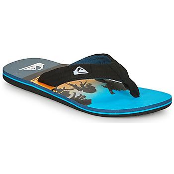 Παπούτσια Άνδρας Σαγιονάρες Quiksilver MOLOKAI LAYBACK Μπλέ / Black