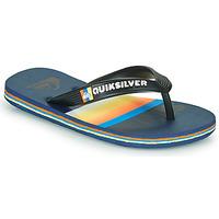 Παπούτσια Παιδί Σαγιονάρες Quiksilver MOLOKAI SLAB Μπλέ / Orange / Black