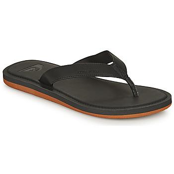 Παπούτσια Άνδρας Σαγιονάρες Quiksilver MOLOKAI NUBUCK II Black