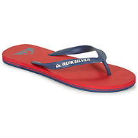 Παπούτσια Άνδρας Σαγιονάρες Quiksilver MOLOKAI Red / Marine