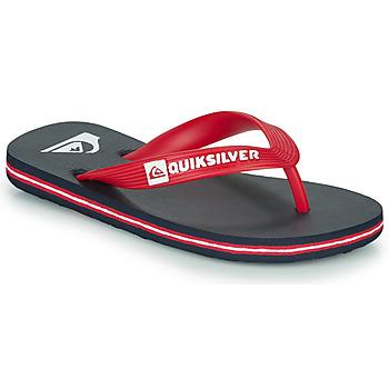 Παπούτσια Παιδί Σαγιονάρες Quiksilver MOLOKAI YOUTH Μπλέ / Red