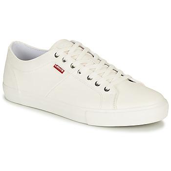 Παπούτσια Άνδρας Χαμηλά Sneakers Levi's WOODWARD Άσπρο