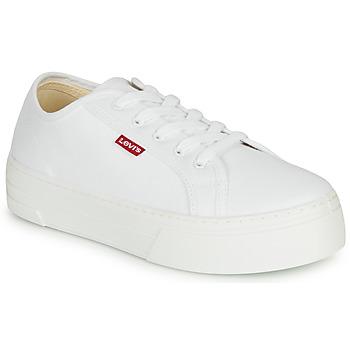 Παπούτσια Γυναίκα Χαμηλά Sneakers Levi's TIJUANA Άσπρο