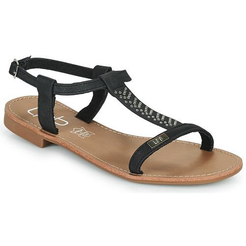 Παπούτσια Γυναίκα Σανδάλια / Πέδιλα Les Petites Bombes EMILIE Black