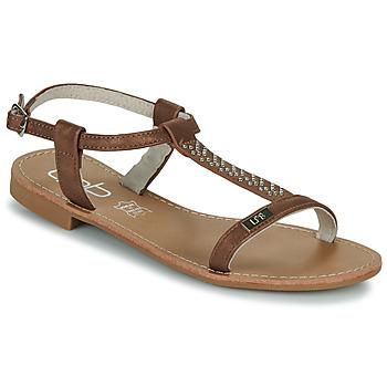 Παπούτσια Γυναίκα Σανδάλια / Πέδιλα Les Petites Bombes EMILIE Camel