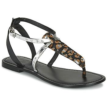 Παπούτσια Γυναίκα Σανδάλια / Πέδιλα Les Petites Bombes ALIX Black / Silver