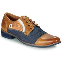 Παπούτσια Άνδρας Derby Kdopa JONES Camel / Μπλέ