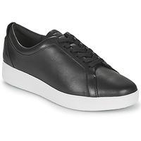 Παπούτσια Γυναίκα Χαμηλά Sneakers FitFlop RALLY SNEAKERS Black