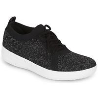 Παπούτσια Γυναίκα Χαμηλά Sneakers FitFlop F-SPORTY UBERKNIT SNEAKERS Black