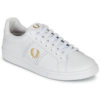 Παπούτσια Άνδρας Χαμηλά Sneakers Fred Perry B721 LEATHER Άσπρο