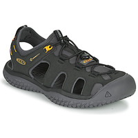 Παπούτσια Άνδρας Σπορ σανδάλια Keen SOLR SANDAL Black