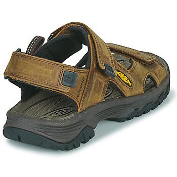 Παπούτσια Άνδρας Σπορ σανδάλια Keen TARGHEE III OPEN TOE SANDAL Brown