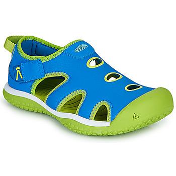 Παπούτσια Παιδί Σπορ σανδάλια Keen STINGRAY Μπλέ / Green