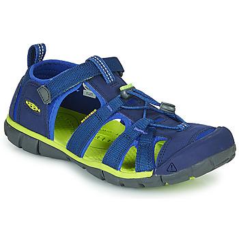 Παπούτσια Παιδί Σπορ σανδάλια Keen SEACAMP II CNX Μπλέ / Green