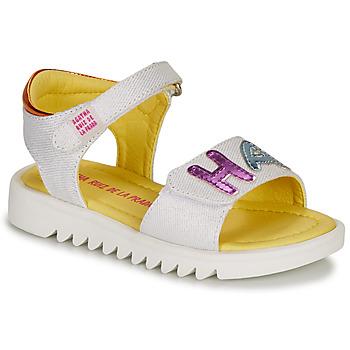 Παπούτσια Κορίτσι Σανδάλια / Πέδιλα Agatha Ruiz de la Prada SMILES Άσπρο