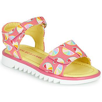 Παπούτσια Κορίτσι Σανδάλια / Πέδιλα Agatha Ruiz de la Prada SMILES Ροζ / Multicolore