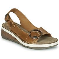 Παπούτσια Γυναίκα Σανδάλια / Πέδιλα Fly London TRAM2 FLY Camel
