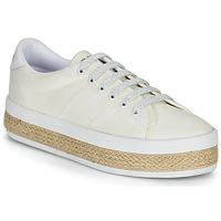 Παπούτσια Γυναίκα Χαμηλά Sneakers No Name MALIBU SNEAKER Άσπρο