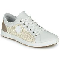 Παπούτσια Γυναίκα Χαμηλά Sneakers Pataugas JOHANA Ecru / Yellow