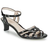 Παπούτσια Γυναίκα Σανδάλια / Πέδιλα Esprit BIRKIN SANDAL Black