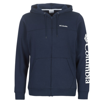 Υφασμάτινα Άνδρας Φούτερ Columbia Columbia Logo Fleece Full zip Collegiate / Navy