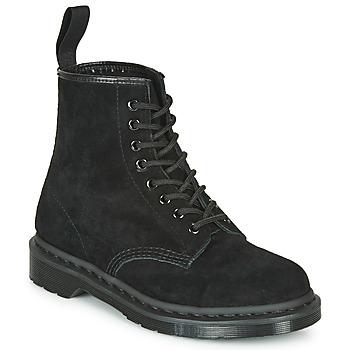 Παπούτσια Μπότες Dr Martens 1460 MONO SOFT BUCK Black