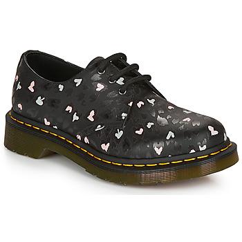 Παπούτσια Γυναίκα Derby Dr Martens 1461 HEARTS Black