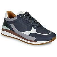 Παπούτσια Άνδρας Χαμηλά Sneakers BOSS LEMENT RUNN LYEM Marine / Grey
