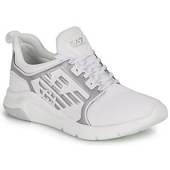 Παπούτσια Χαμηλά Sneakers Emporio Armani EA7 RACER REFLEX CC Άσπρο / Argenté
