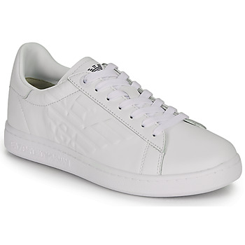Παπούτσια Άνδρας Χαμηλά Sneakers Emporio Armani EA7 CLASSIC NEW CC Άσπρο