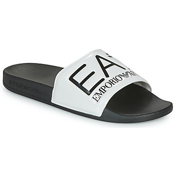 Παπούτσια σαγιονάρες Emporio Armani EA7 SEA WORLD VISIBILITY SLIPPER Black / Άσπρο