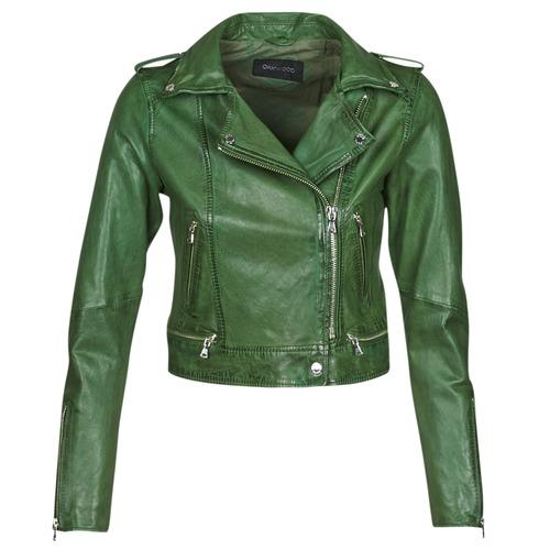 Υφασμάτινα Γυναίκα Δερμάτινο μπουφάν Oakwood KYOTO Green