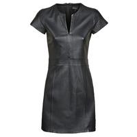Υφασμάτινα Γυναίκα Κοντά Φορέματα Oakwood PLEASE Black