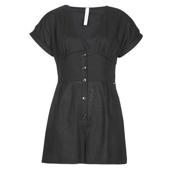 Υφασμάτινα Γυναίκα Ολόσωμες φόρμες / σαλοπέτες Pepe jeans SHERGIA Black