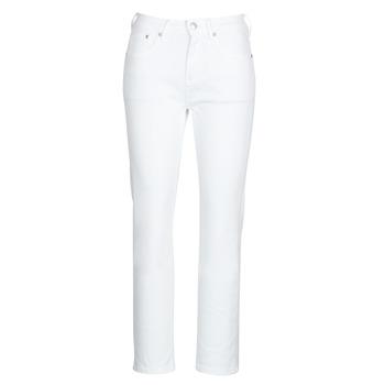 Υφασμάτινα Γυναίκα Τζιν σε ίσια γραμμή Pepe jeans MARY Άσπρο