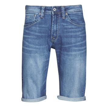 Υφασμάτινα Άνδρας Σόρτς / Βερμούδες Pepe jeans CASH Μπλέ / Medium