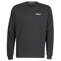 Υφασμάτινα Άνδρας Μπλουζάκια με μακριά μανίκια Patagonia M's L/S P-6 Logo Responsibili-Tee Black