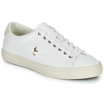 Παπούτσια Άνδρας Χαμηλά Sneakers Polo Ralph Lauren LONGWOOD-SNEAKERS-VULC Άσπρο