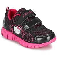 Παπούτσια Κορίτσι Χαμηλά Sneakers Hello Kitty BASEMO PHYL Black