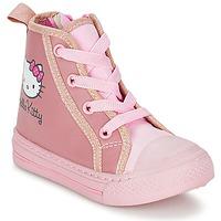 Παπούτσια Κορίτσι Ψηλά Sneakers Hello Kitty TANSIOUR Ροζ
